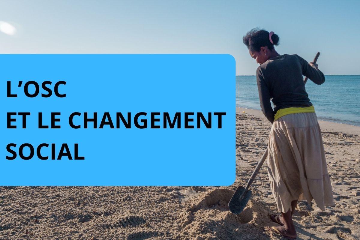 L'OSC ET LE CHANGEMENT SOCIAL